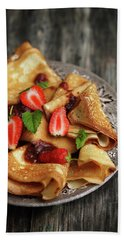 Your Pancakes Are Poetry Bath Towel