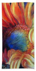 Bath Towel featuring the pastel Your Passion Becomes My Passion by Antonia Citrino