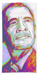 Your President  Hand Towel by Collin A Clarke