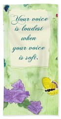 Your Voice Hand Towel