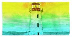 You're My Beacon Peggy's Cove Lighthouse Bath Towel
