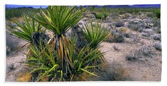 Yucca And Cinder Cones Bath Towel