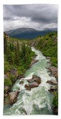 Yukon River Hand Towel