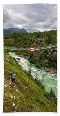 Yukon Suspension Bridge Hand Towel
