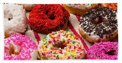 Yummy Donuts Bath Towel