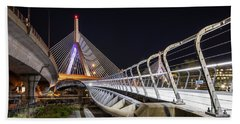 Zakim Bridge Walkway Hand Towel