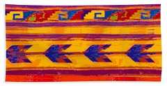 Zapotec Colors Bath Towel