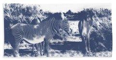 Zebra 4 Bath Towel