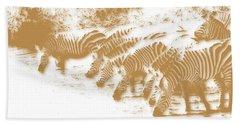 Zebra 6 Bath Towel