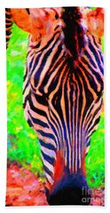 Zebra . Photoart Hand Towel