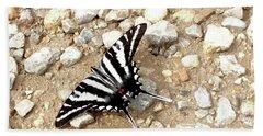 Zebra Swallowtail Hand Towel