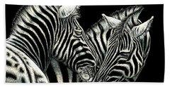 Zebras Bath Towel