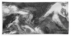 Zen Abstract A10115ajpg Hand Towel