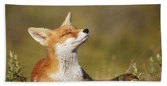Zen Fox Series - Summer Fox Bath Towel