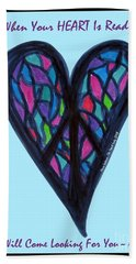 Zen Heart Peace Puzzle Bath Towel