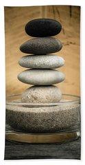 Zen Stones I Bath Towel