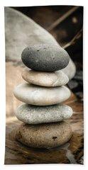 Zen Stones Iv Bath Towel