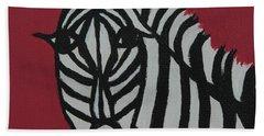 Zena Zebra Hand Towel