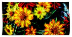 Zinnias With Zest Hand Towel