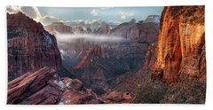 Zion Canyon Grandeur Bath Towel