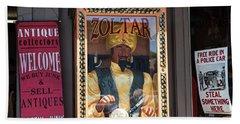 Zoltar Speaks Bath Towel