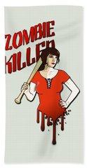 Zombie Killer Hand Towel
