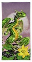 Zucchini Dragon Bath Towel