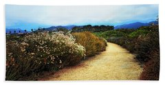 Zuma Beach Pathway Hand Towel by Glenn McCarthy Art and Photography