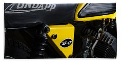 Classic Zundapp Bike Xf-17 Side View Bath Towel