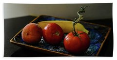 009 - Red Tomato Bath Towel