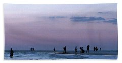 011 - Florida Silhouettes Hand Towel