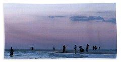 011 - Florida Silhouettes Bath Towel