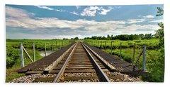 027 - Iowa Rail Hand Towel
