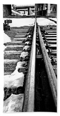 041 - Rail Switch Bath Towel