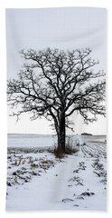 046 - Lone Tree Hand Towel