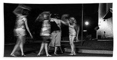 047 - Night Dancing Hand Towel