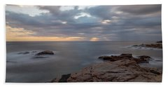 Sunrise On The Costa Brava Hand Towel