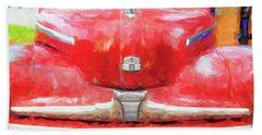 1947 Ford Super Deluxe Coupe 006 Bath Towel