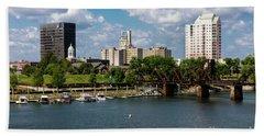 Augusta Ga - Savannah River Hand Towel
