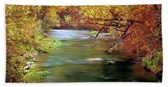 Autumn River Hand Towel