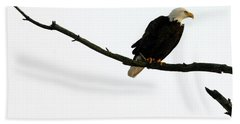 Bald Eagle 120501 Bath Towel