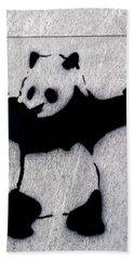 Banksy Panda Hand Towel