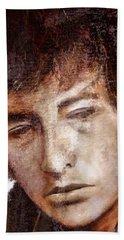 Bob Dylan Artwork Hand Towel