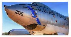 Boeing B47 Sac Bomber Bath Towel