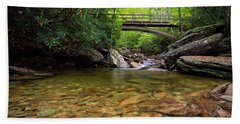 Boone Fork Bridge - Blue Ridge Parkway - North Carolina Bath Towel