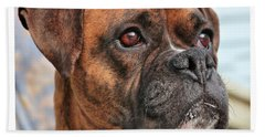 Boxer Bath Towel