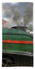 Bury. East Lancashire Railway. 60009 Union Of South Af Hand Towel