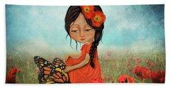 Butterfly Whisperer Hand Towel