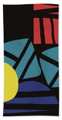 Colorful Bento 3- Art By Linda Woods Bath Towel