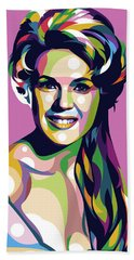 Connie Stevens Bath Towel